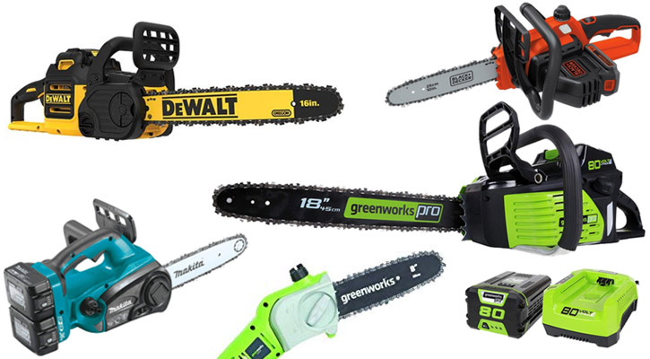 Battery Powered Cordless Chainsaws