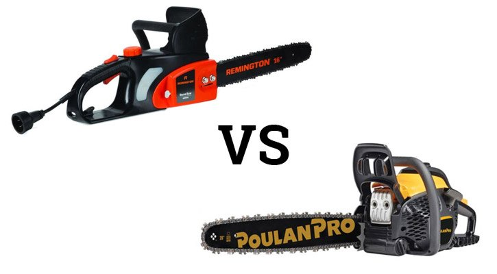 Electric vs Gas Chainsaw Comparison