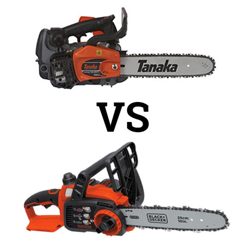 Top Handle vs Rear Handle Chainsaw Types