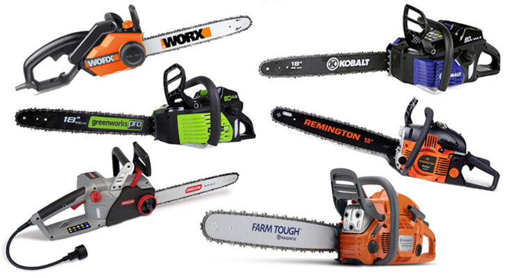 Best 18 inch Chainsaws for 2019 (Reviews on Gas, Electric & Battery Chainsaws)