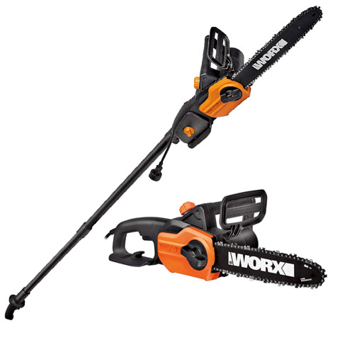 Best Corded Electric Chainsaw WORX WG309