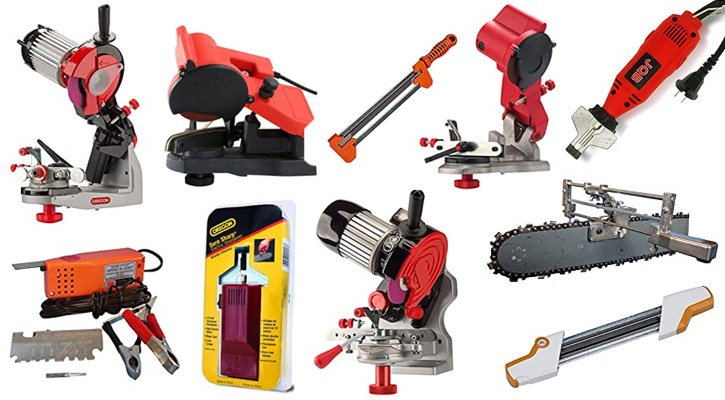 Best Chainsaw Sharpeners (Electric, Manual & Portable Reviews)